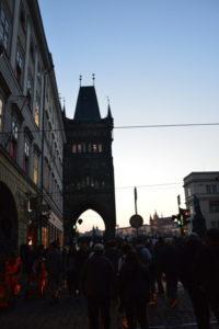Вот и Староместская башня у Карлова моста