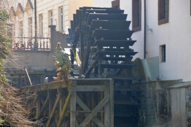 Мельничное колесо на Чертовке. Водяной Кабурек
